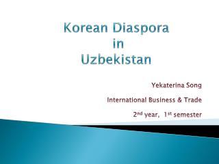 Korean Diaspora  in  Uzbekistan