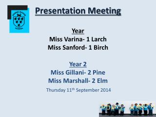 Thursday 11 th  September  2014