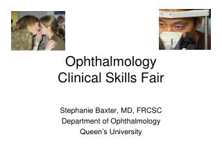 Ophthalmology  Clinical Skills Fair