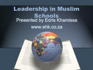 Leadership in Muslim Schools