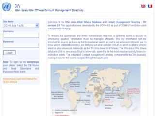 Who does What Where Database & Contact Management Directory (3W)