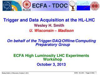 ECFA - TDOC