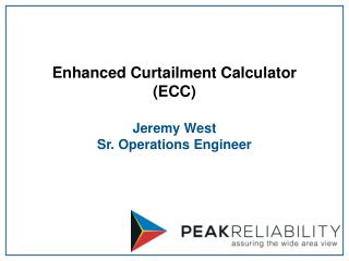 Enhanced Curtailment Calculator  (ECC)
