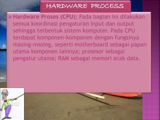 HARDWARE  PROCESS