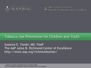 Tobacco Use Prevention for Children and Youth