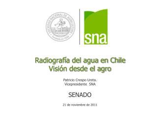 Radiografía del agua en Chile
