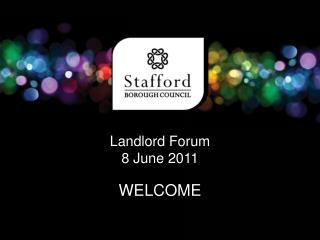 Landlord Forum 8 June 2011