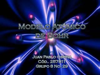 Modelo At�mico de Bohr