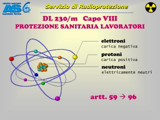 DL 230/m   Capo VIII  PROTEZIONE SANITARIA LAVORATORI
