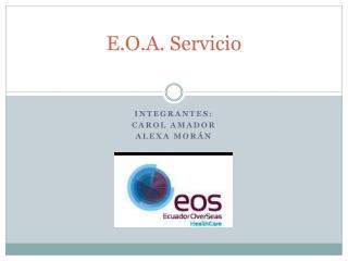 E.O.A. Servicio