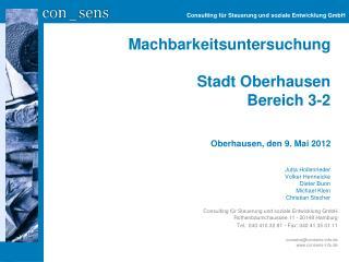 Consulting für Steuerung und soziale Entwicklung GmbH