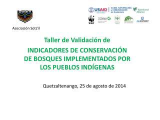 Quetzaltenango, 25 de agosto de 2014