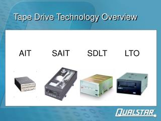 Tape Drive Technology Overview