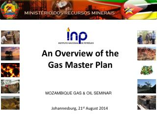 An Overview of the  Gas Master Plan