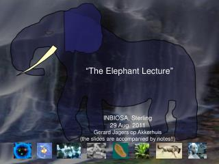 """The Elephant Lecture"""