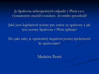 Markéta Petrů