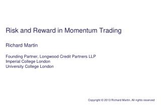What momentum trading is