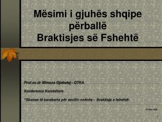 M simi i gjuh s shqipe   p rball   Braktisjes s  Fsheht