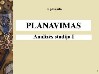 PLANAVIMAS
