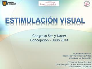 Congreso Ser y Nacer Concepción – Julio 2014