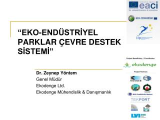 �EKO-END�STR?YEL  PARKLAR �EVRE DESTEK  S?STEM?�