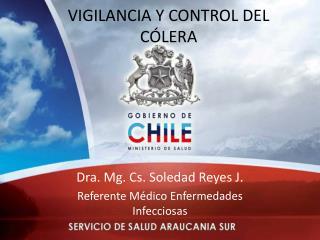 VIGILANCIA Y CONTROL DEL CÓLERA