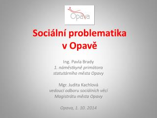 Sociální problematika              v Opavě