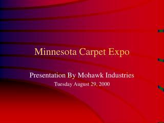 Minnesota Carpet Expo