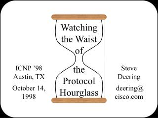 Watching the Waist of  the Protocol Hourglass