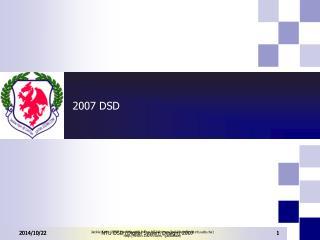 2007 DSD