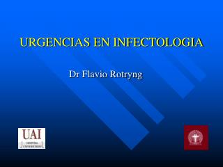 URGENCIAS EN INFECTOLOGIA