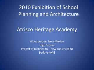 Atrisco Heritage Academy