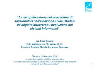 Roma –  13 Dicembre 2010