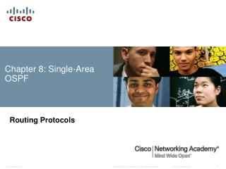 Chapter 8:  Single-Area OSPF