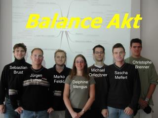 Methodisches Konstruieren – µ-Computer Studentische Projektarbeit Gruppe 2  –  Balance Akt