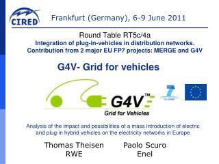 G4V- Grid for vehicles