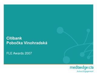 Citibank Pobočka Vinohradská
