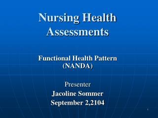 Nursing Health Assessments