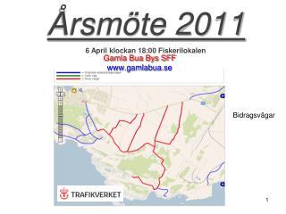 Årsmöte 2011