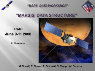 �Marsis� data STRUCTURE�