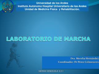 Dra. Morelia Hernández Coordinador: Dr Pérez Colmenares