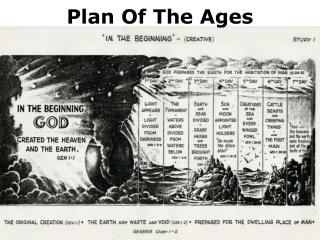 Plan Of The Ages