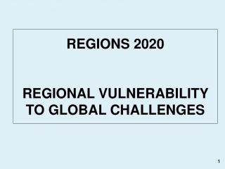 A. The Mediterranean challenge