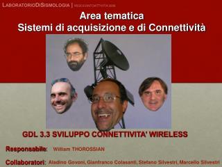 Area tematica Sistemi di acquisizione e di Connettività