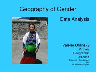 Geography of Gender