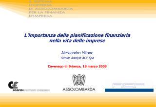 L'importanza della pianificazione finanziaria nella vita delle imprese