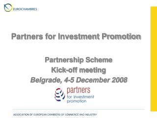 Partners for Investment Promotion