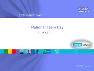 Rational Team Day