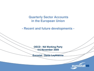 Euro Area Accounts Households