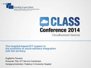 The  hospital-based ICT system in   the  evolution of socio-sanitary  integration
